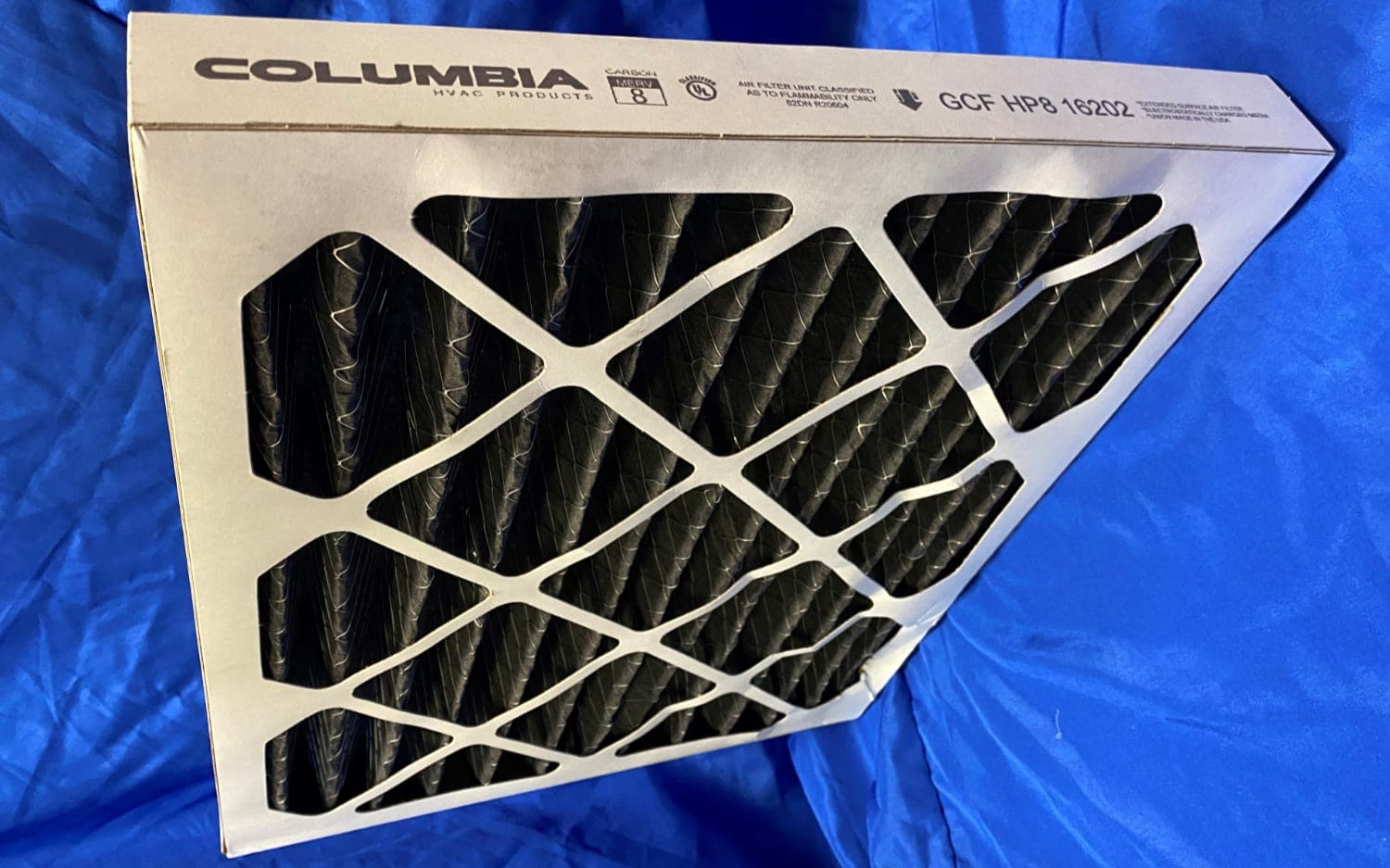 2-inch carbon filter.